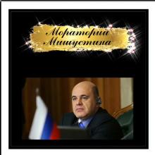 Мораторий Мишустина : на кого он распространяется и стоит ли его бояться?